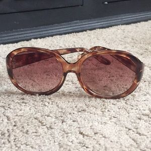 Brown sunglasses by anthropologie